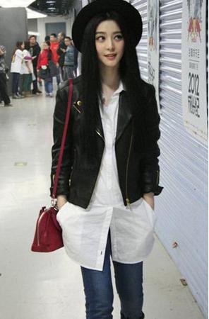 长版白衬衫当洋装