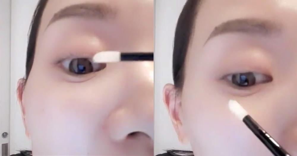 画眼睫毛图片步骤