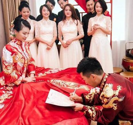 吴敏霞婚礼