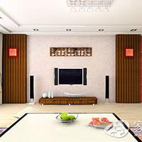 风格迥异电视墙 成就完美家居装饰