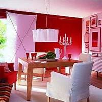 流行风格色彩 纯色餐厅打造浪漫情调