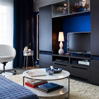 宜家小客厅设计 拥抱温暖静谧空间