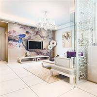 家具装修 时尚客厅隔断设计