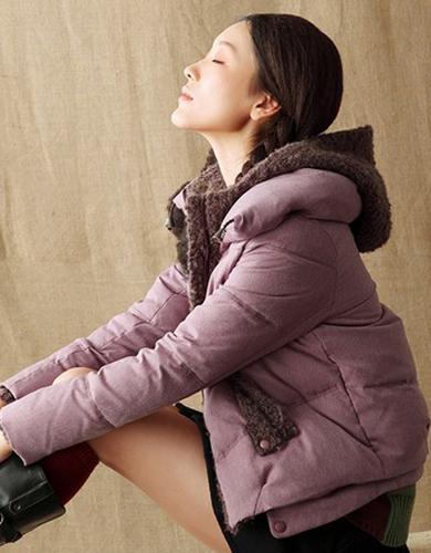 推荐冬季加厚中长羽绒服女款