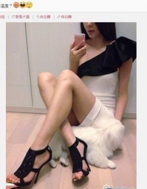名模熊黛林自曝已有新欢后常自拍照片吸引粉丝关注