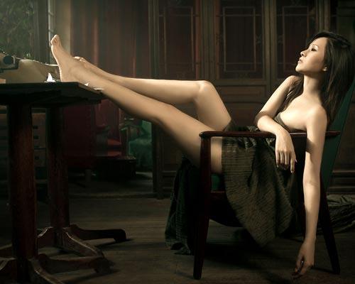 人体模特汤芳个人资料及汤芳芳两腿分开图