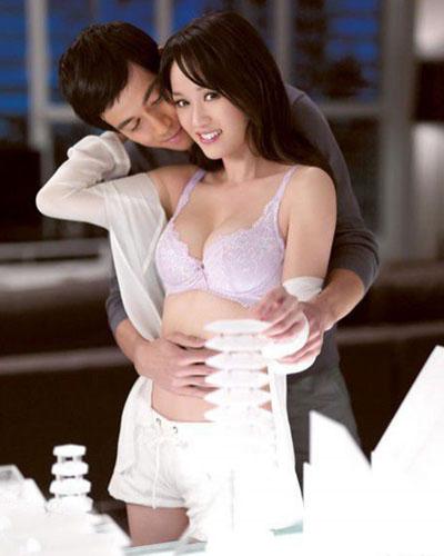 陈乔恩被强吻图片欣赏  陈乔恩走春光视频图片