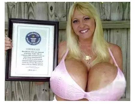 世界上最大的胸罩是多少号