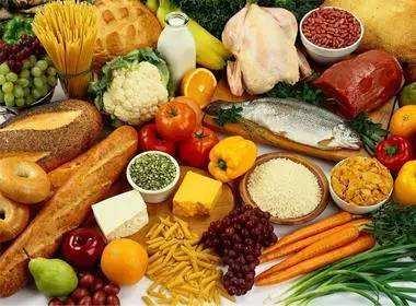 纤维类食物