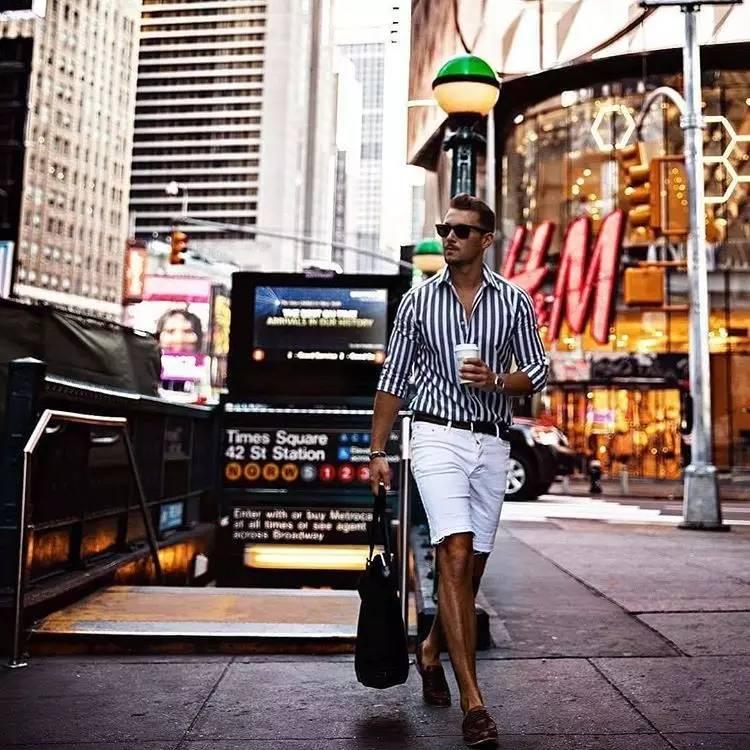 2017纽约男装周街拍