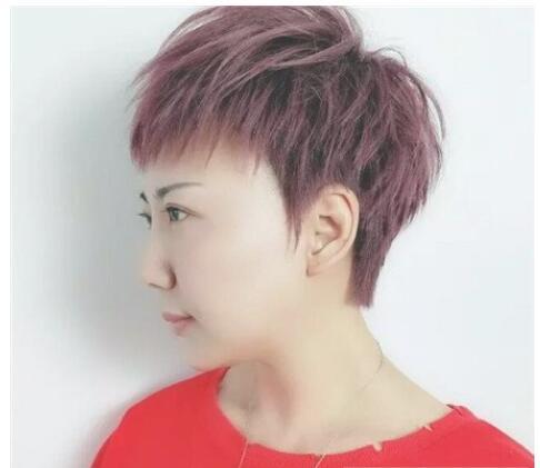 2018今年流行什么发型?女生个性短发发型设计