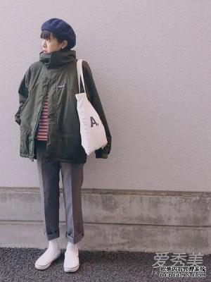 小个子女生冬季穿什么?日妞的4个增高技巧