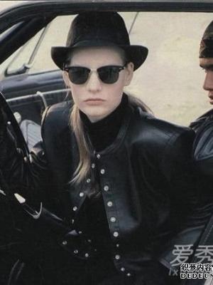 皮衣风潮来袭!agnes b.教你穿出时尚又性感的法式女人女人味