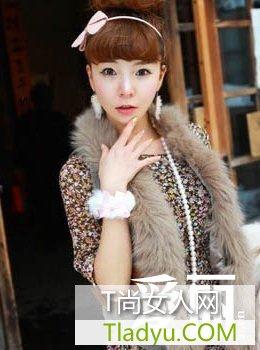 清新可爱发型 韩国7款人气发型图片